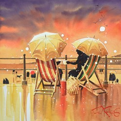 Cheers by Peter J Rodgers -  sized 12x12 inches. Available from Whitewall Galleries
